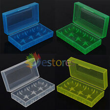 4 x 18650 CR123A 16340 Hard Plastic Battery Case Box Holder Storage