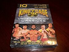 King of the Cage The Evolution Of Combat Underground Warriors (DVD, 2006) Fights