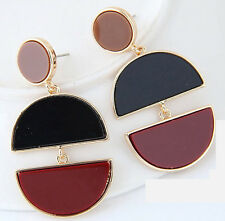 MARNI H&M Double Moon  Pendant Earrings