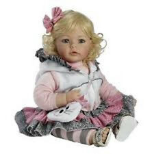 "Adora 20"" BABY PLAY DOLL THE CAT'S MEOW Cuddle Toddler Blonde Hair Blue Eyes NEW"