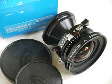Schneider Super Angulon 58mm XL f/5.6 MC Lente in coppale otturatore #0 (NR Nuovo di zecca)