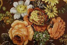 RARE Vintage SANDERSON Kleinwort Fabric 53% Linen 47% Cotton 184x124cm Floral