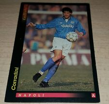 CARD GOLD 1993 NAPOLI CORRADINI CALCIO FOOTBALL SOCCER ALBUM