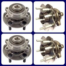2 FRONT & 2 REAR WHEEL HUB BEARING ASSEMBLY FOR NISSAN 350Z (2003-2009) 2WD /AWD