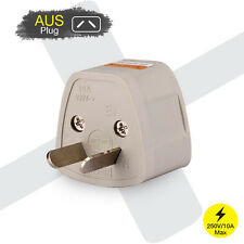 US EU UK Universal to AU AUS AC Power Plug Travel Adapter Converter Australia
