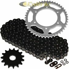 Black O-Ring Drive Chain & Sprocket Kit Fits SUZUKI GSX-R600 GSXR600 1998-2000