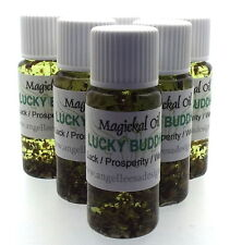 Lucky Buddha Herbal Magickal Anointing 10ml Oil Luck Prosperity Wealth