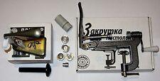 20 Gauge Cartridge Reload/Load Kit (press, zinc crimp set, table roll crimper)