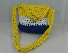 lotte-vogel Borsa (Piccola borsa 21x21cm) (giallo bianco blu) - Made in Germania