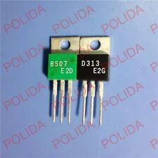 5pairs OR 10PCS Transistor SANYO TO-220 2SB507/2SD313 B507/D313