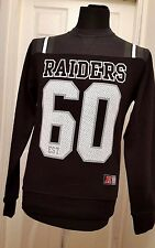 Nouvelle culture sur team apparel raiders 60 crew sweat-shirt welles-s