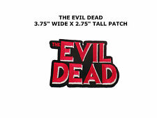 The Evil Dead Embroidered Iron or Sew-on Movie TV Patch US Seller