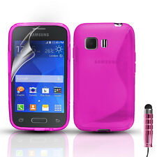 S-Line Slim Silicone Gel Case Cover For Samsung Galaxy Young 2 SM-G130H