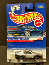 2000 Hot Wheels #076 First Editions 16/36 1999 Isuzu VehiCross - 24392