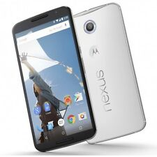 64GB Motorola Google Nexus 6 XT1103 GSM Factory Unlocked Smartphone - White
