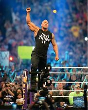 "THE ROCK WWE PHOTO INRING 8x10"" OFFICIAL WRESTLING PROMO"