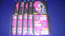10 UNOPENED STICKERS PACKS MONSTER HIGH PANINI