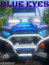 Polaris Ranger RZR 800 BLUE EYES Head Light Cover's New Item UTV,ATV NEW