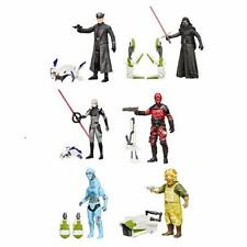 "Star Wars The Force Awakens 3 3/4"" Jungle and Space Wave 2 1/2 Case 6 figures"