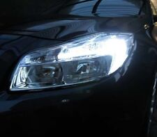 T20 580 VAUXHALL INSIGNIA LED DRL DAY TIME RUNNING LIGHT W21/5W XENON WHITE
