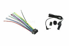 WIRE HARNESS & MIC FOR ALPINE CDE-W235BT CDEW235BT *PAY TODAY SHIPS TODAY*