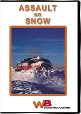 Assault on Snow DVD NEW WB Wyoming & Colorado Coalmont Encampment Branch rotary