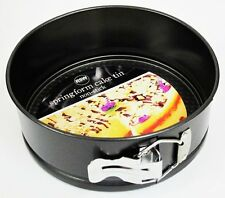 "NEW NON-STICK SPRINGFORM ROUND CAKE TIN PAN EASY BAKING 7"" / 18cm RSW"