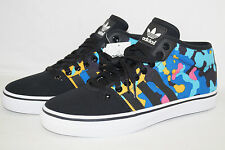 Adidas Originals Adriático mid W talla 43 1/3 UK 9 negro multicolor
