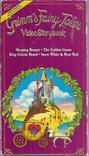 grimm's fairy tales Video Storybook sleeping beauty golden goose snow white vhs
