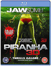 Piranha 3D Blu-ray 2010 No 3D Glasses Included