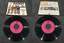 Disque 45 tours The Kinks ‎- Dandy - EP PNV 24177