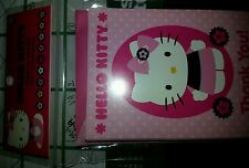 new hello kitty sticker book or tattoos book or thank you cards