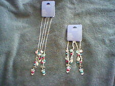 BRAND NEW GIRL'S BEST FRIEND OWL CHARM NECKLACE AND MATCHING BRACELET SET