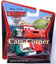 Disney pixar Cars 2 Memo rojas Jr. - Chase car 2011-Ltd. Edition-NEUF & OVP