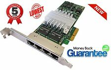 HP nc364t PCI Express Quad Port Gigabit Server NIC Scheda 435506-003 436431-001 --