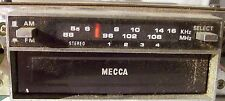 Vintage MECCA  Car Radio 8-Track Player AM/FM Model IRK-605A/F USED