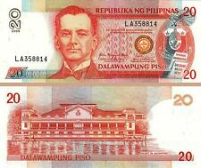 PHILIPPINES 20 PISO 2009 UNCIRCULATED P.182