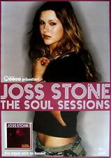 "JOSS STONE POSTER ""THE SOUL SESSIONS"""