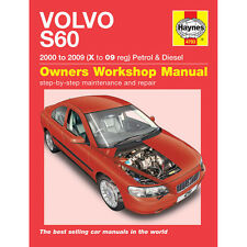 Volvo S60 2.0 2.3 2.4 2.5 Petrol 2.4 2.5 TD 00-09 (X to 09 Reg) Haynes Manual