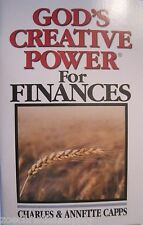 GOD'S CREATIVE POWER FOR FINANCES-Charles Capps - New Booklet