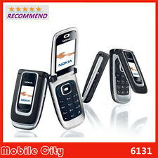 NOKIA 6131(UNLOCKED) FLIP PHONE QUAD BAND BLACK BLUETOOTH CELLULAR CELL PHONE