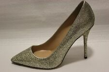 J Crew Roxie Mermaid Glitter Pumps Heels 7.5 Weding Shoes Silver $279 e0784 OMG