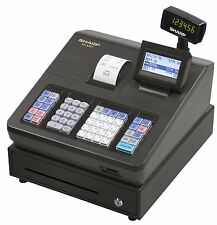 Sharp XEA207 XE-A207 Cash Register, 2500 Lookups, 99 Dept, 25 Clerk