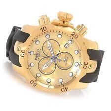 Invicta 16985 Reserve Venom Gold Plated Swiss Chronograph Black Poly Strap Watch