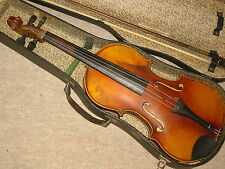 "Nicely flamed old Violin NR ""Meinel & Herold Klingenthal"" violon"