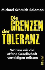 Die Grenzen der Toleranz - Michael Schmidt-Salomon - UNGELESEN