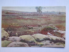WORLD WAR I POSTCARD DAILY MAIL OFFICIAL PHOTO CRAWLING to GERMAN TRENCHES No 14