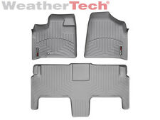 WeatherTech® FloorLiner - Dodge Grand Caravan 2nd Row w/ Bucket - 2008-2012-Grey