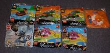 7 McDONALD'S  HAPPY MEAL LEGO HAPPY MEAL TOYS