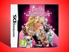 BARBIE E IL SALONE DI BELLEZZA PER CANI GIOCO X DS - 3DS E 2DS ITA USATO SICURO!